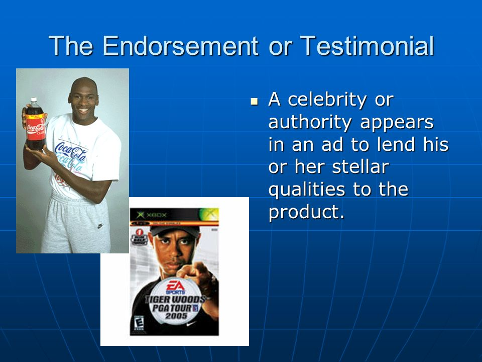 Celebrity Endorsement Ads & Celebrities Promoting Products