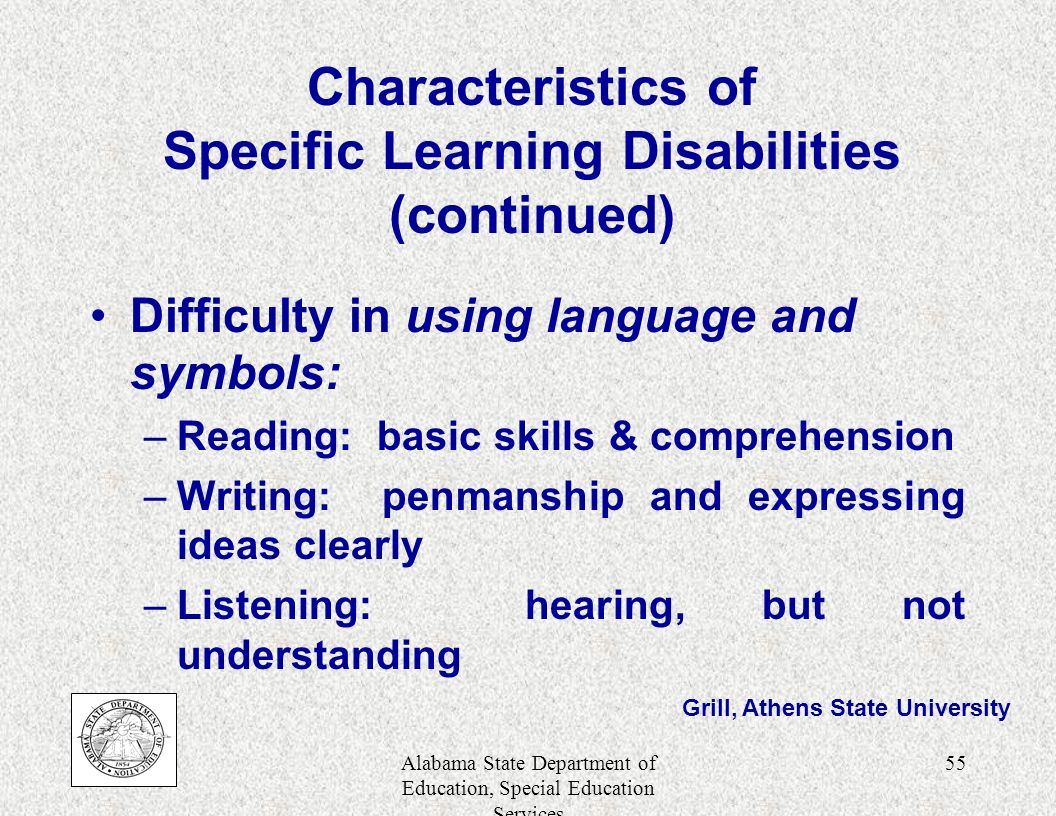understand the nature and characteristics of learning disability The etiology of a learning disability is neurological in nature  to educators  who do not understand the concept, remediation is a waste of.
