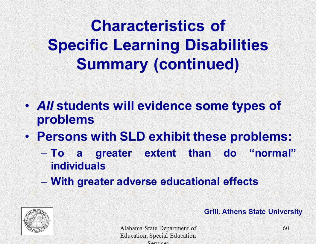 learning disabilities summary Challenging behaviour and learning disabilities: summary of nice guidance  bmj 2015 350 doi:   (published.