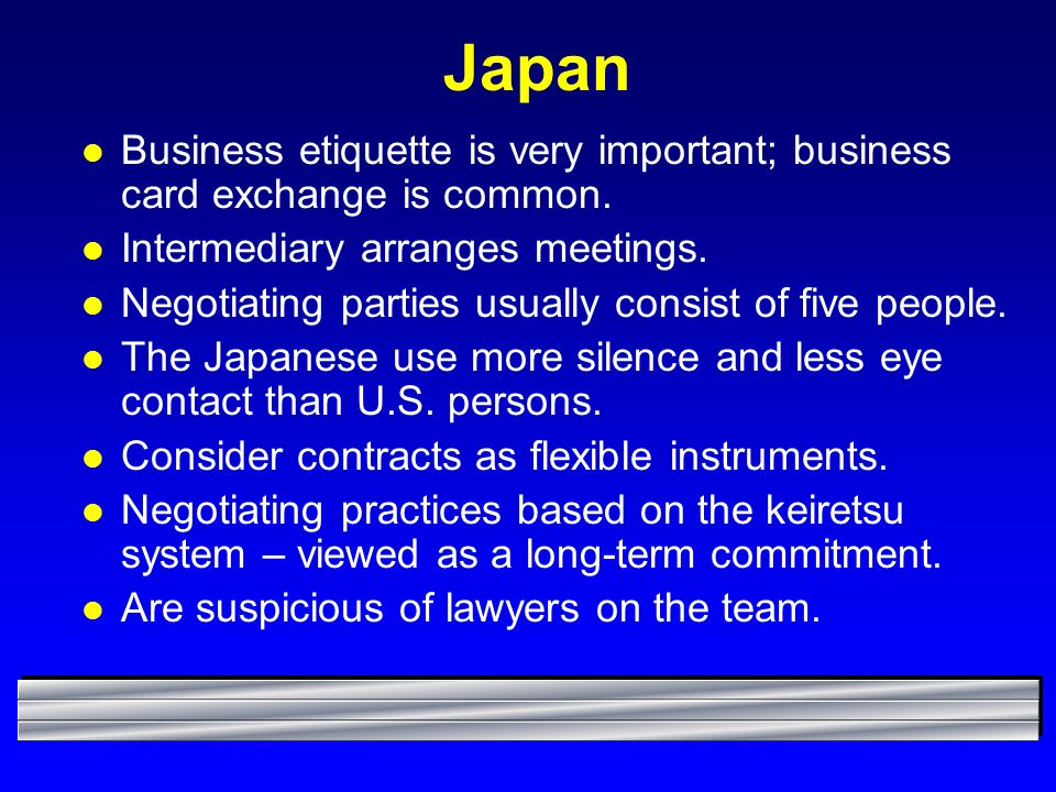 Chapter 10: Intercultural Negotiation Process - ppt video online ...