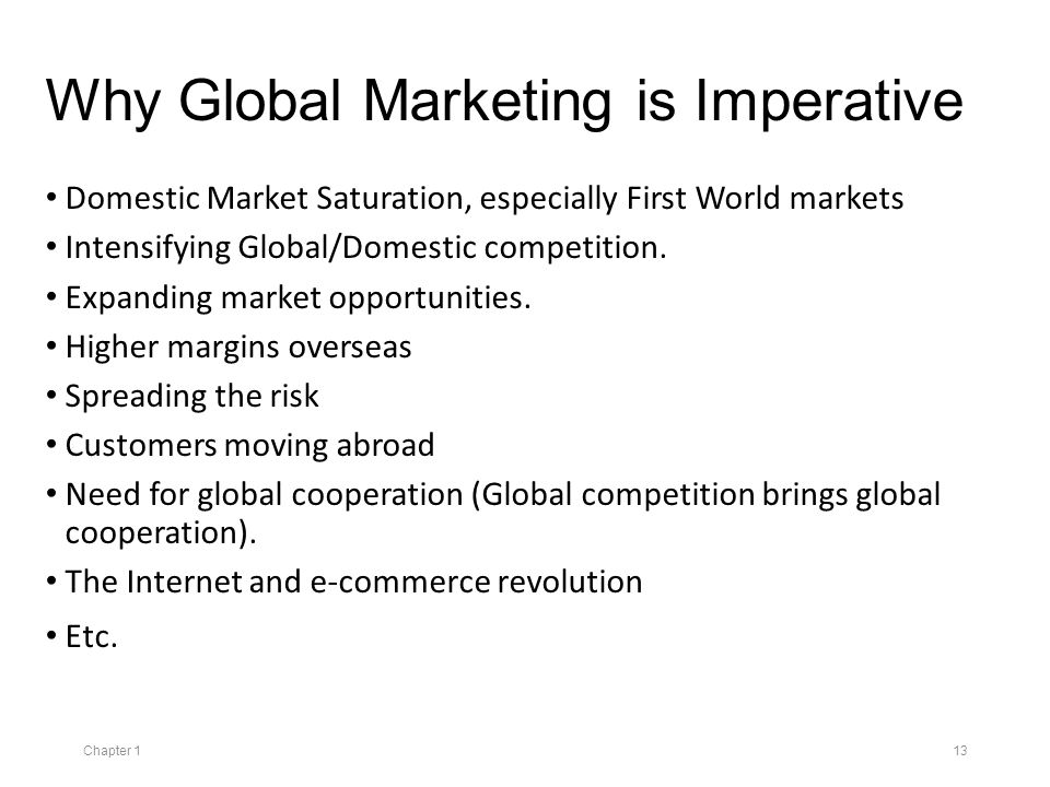 global and domestic marketing Global vs international we talk about global aspirations of a company when it sets its eyes on international markets, and we also talk about global.