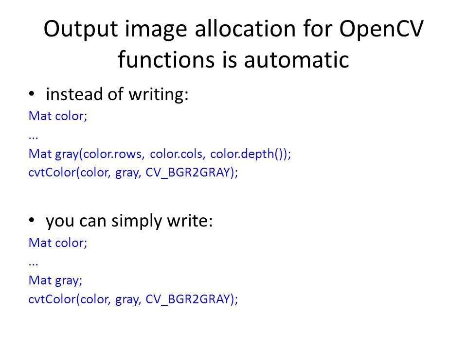 Lecture 10 Image Processing With Opencv Jjcao Ppt