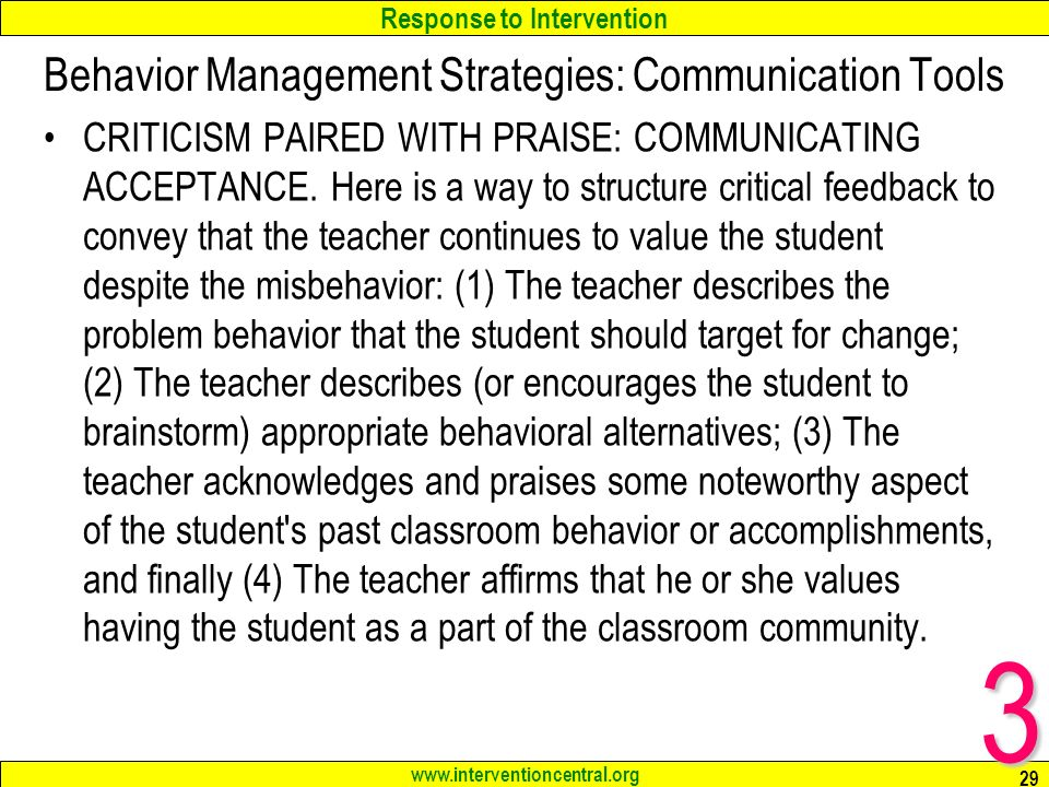 behavior management strategies essay Behavior management techniques for teachers: inclusive classrooms  use our table of contents to discover tips and examples of classroom behavior management strategies:.
