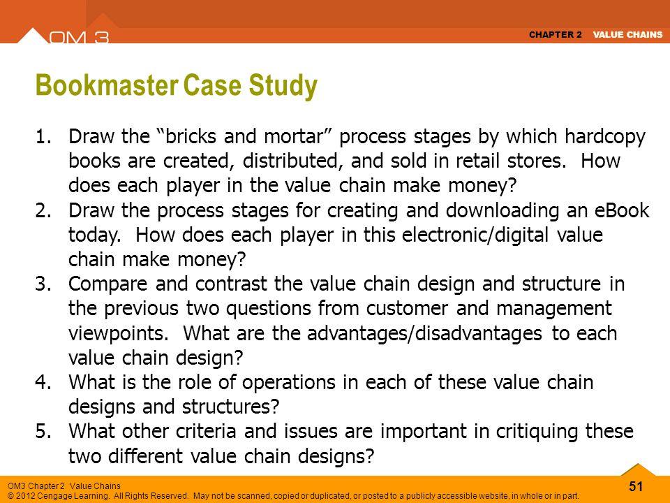 bookmaster case sudy