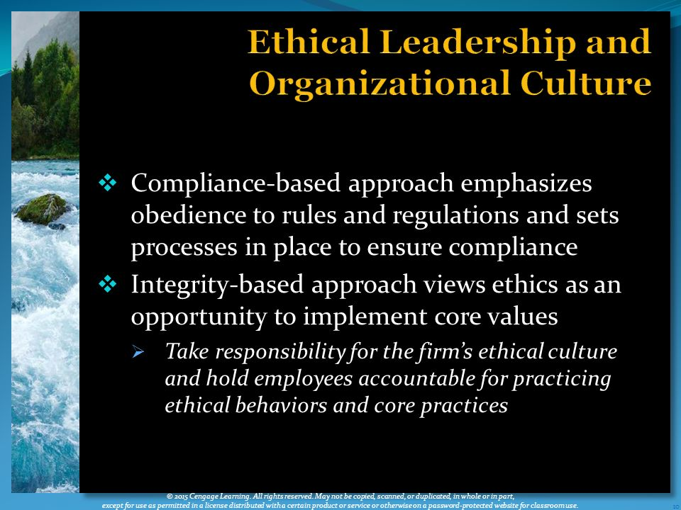 ethical leadership in organizations Embedding ethical leadership within and across organization levels  proach to more fully understand how leadership at higher levels of organizations influences.