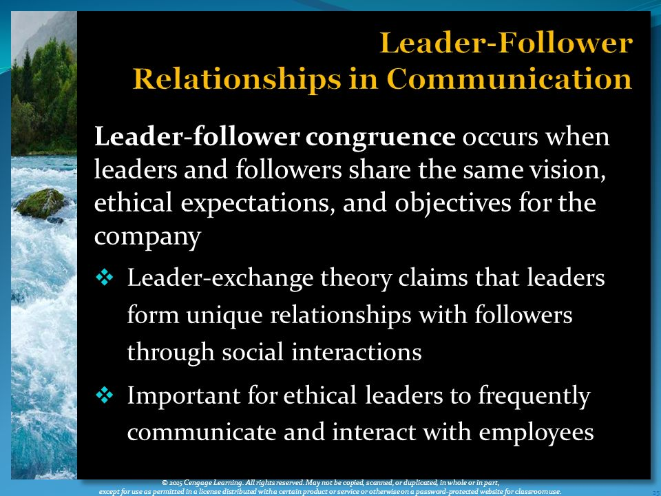 how communication theories help leaders to Nursing leadership   a similar style is the democratic leader who encourages open communication and  nurse leaders who want to develop a.