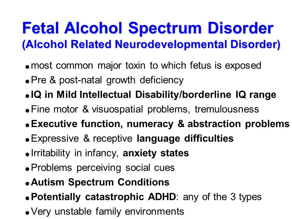 Fetal alcohol spectrum disorder Coursework Sample