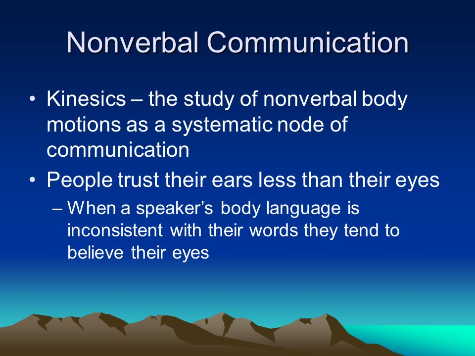 Body Language Classes, Research, and ... - Nonverbal Group