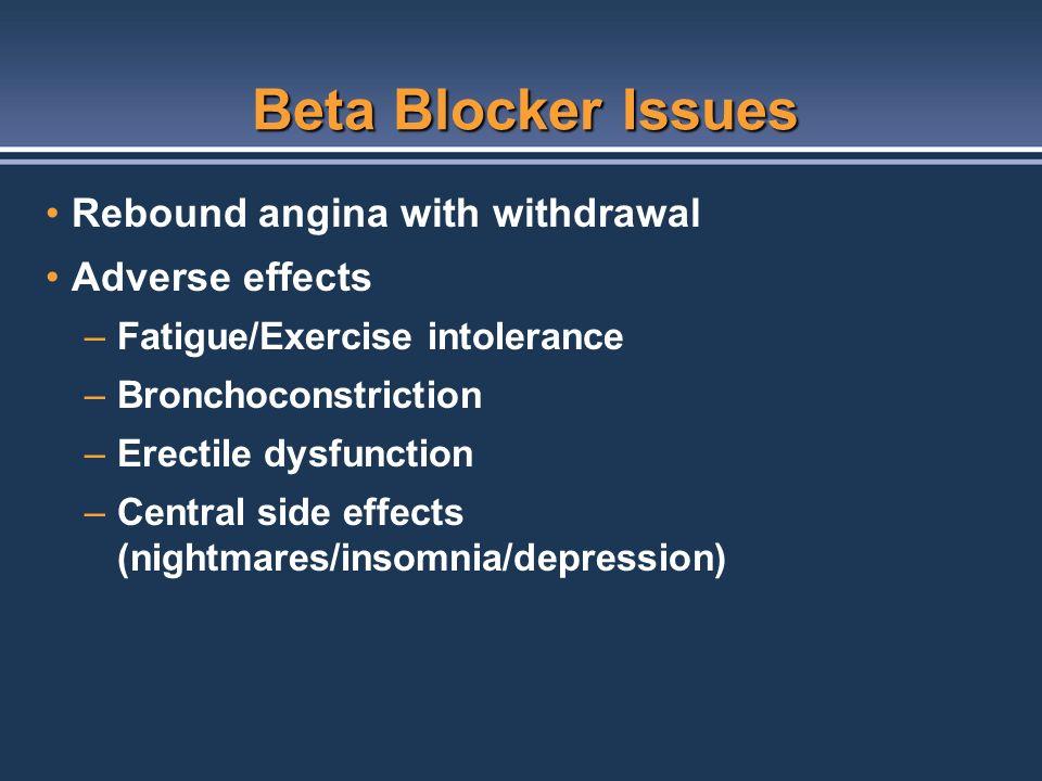Atenolol Side Effects Impotence