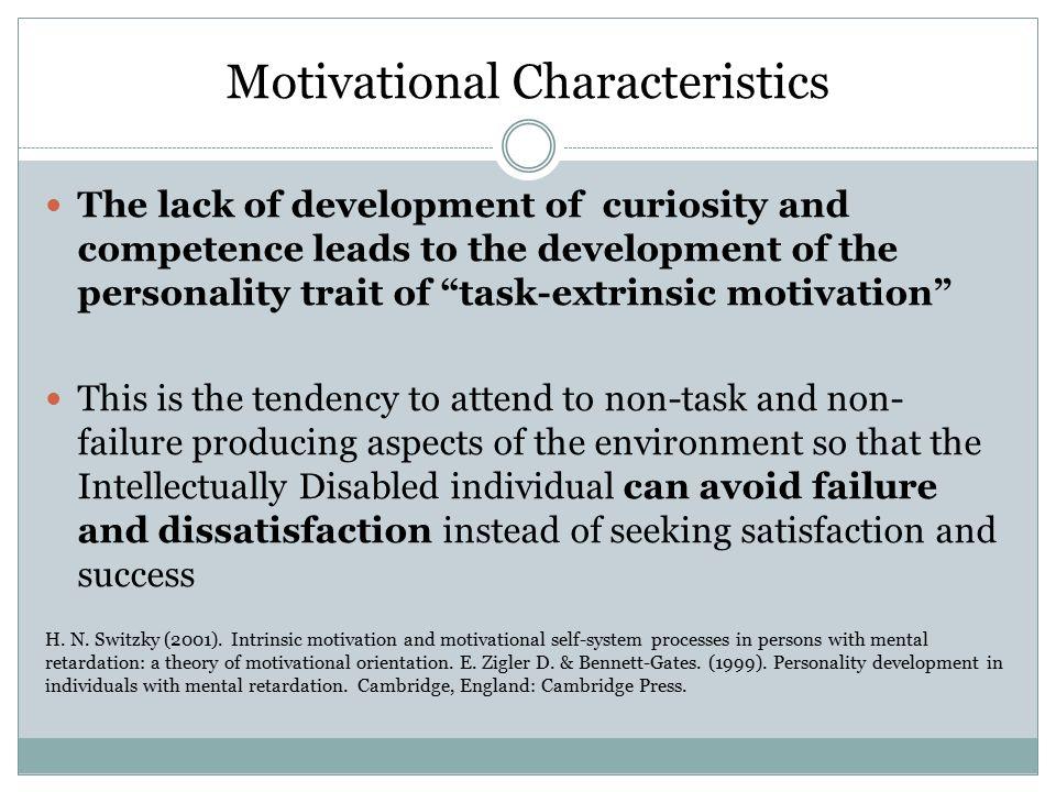 characteristics of mental retardation pdf