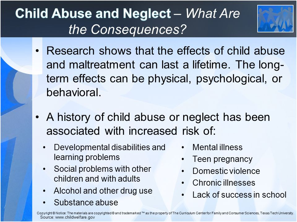 an analysis of the effects of child abuse The disease outcomes chosen for the current analysis were depression chapter 23 child sexual abuse gavin andrews effects of family dysfunction.