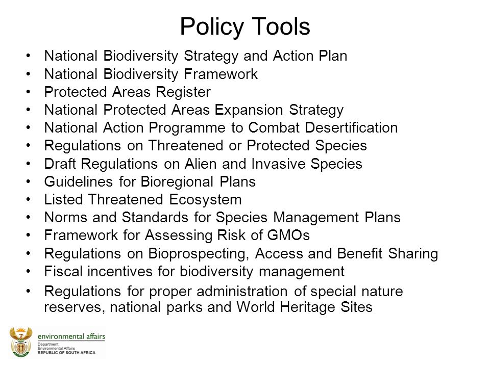 National biodiversity strategy and action plan germany