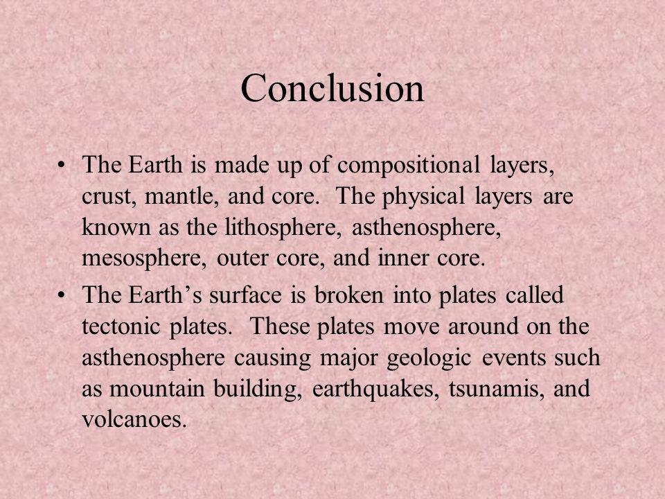 Short essay on Plate-Tectonics