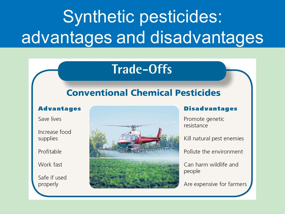 the advantages and disadvantages of pest Bacillus thuringiensis - higher tier this bacteria naturally produces a toxin which is poisonous to many insects the gene for producing this poison has been inserted into crop plants which are now resistant to these insect pests however, there are advantages and disadvantages to doing this the advantages of using this.