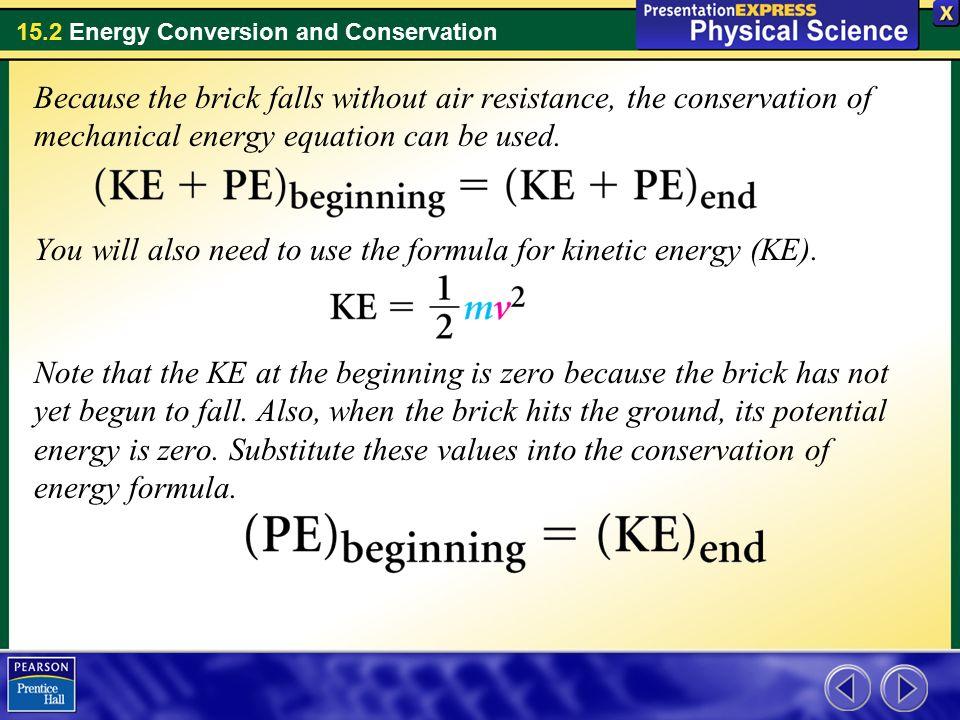 15-2 Cornell notes Ene... Mechanical Energy Formula Calculator