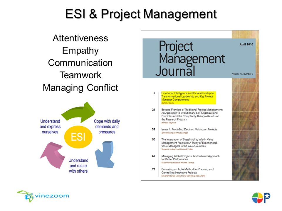 esi project management This year, we're seeing the project management discipline evolve beyond  traditional borders and methodologies to keep pace with organisational changes.