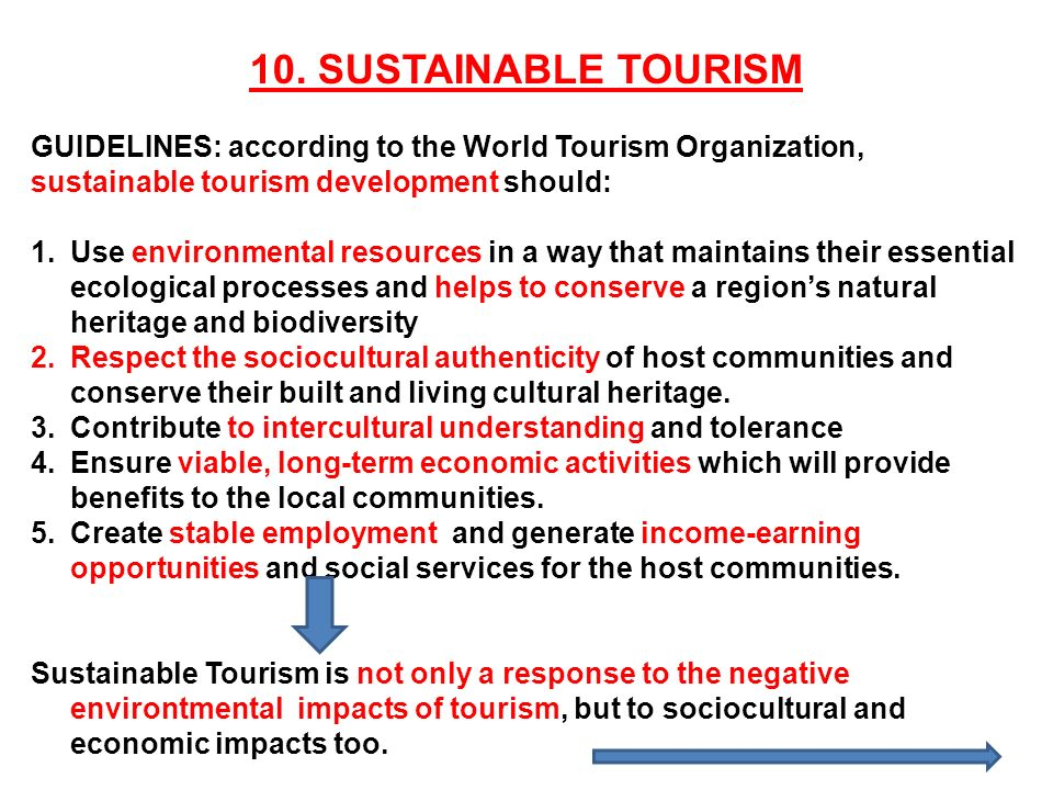 Impact of tourism on local communities