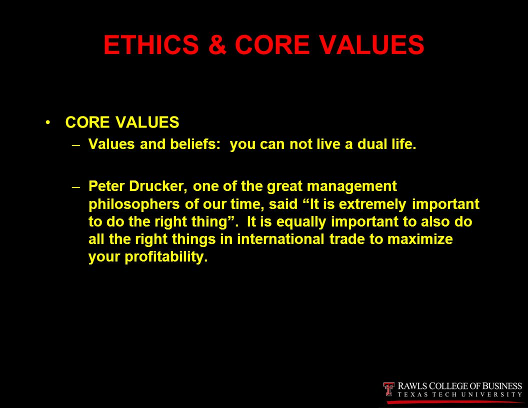 what is business ethics by peter drucker Choose from 500 different sets of exam 2 review business ethics flashcards on quizlet log in sign up  peter drucker developed the _____.
