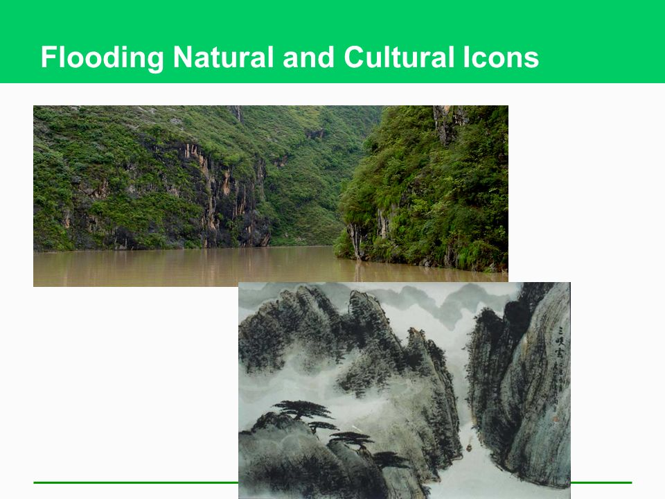Flooding Natural and Cultural Icons