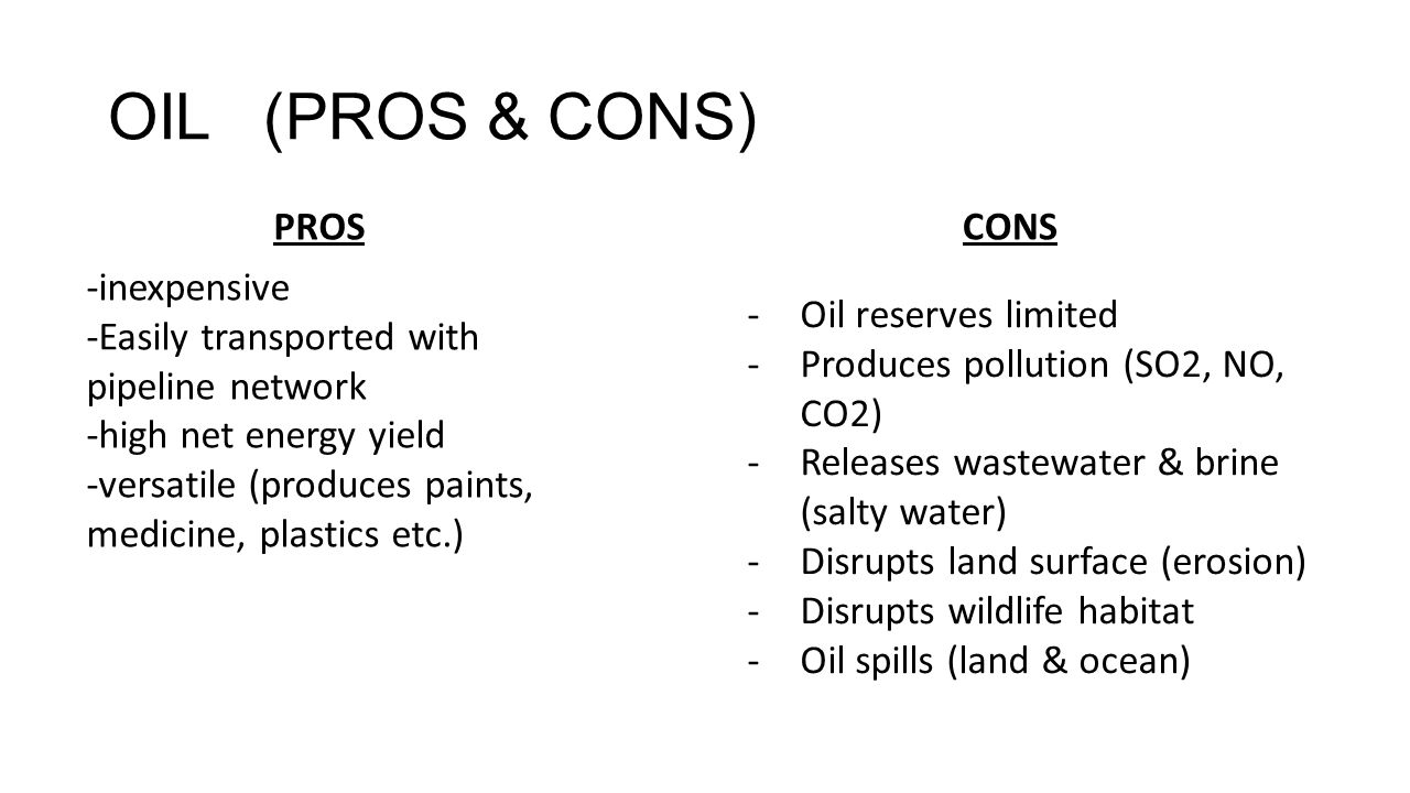 Cons: the Arguments Against Using Vegetable Oil as Fuel