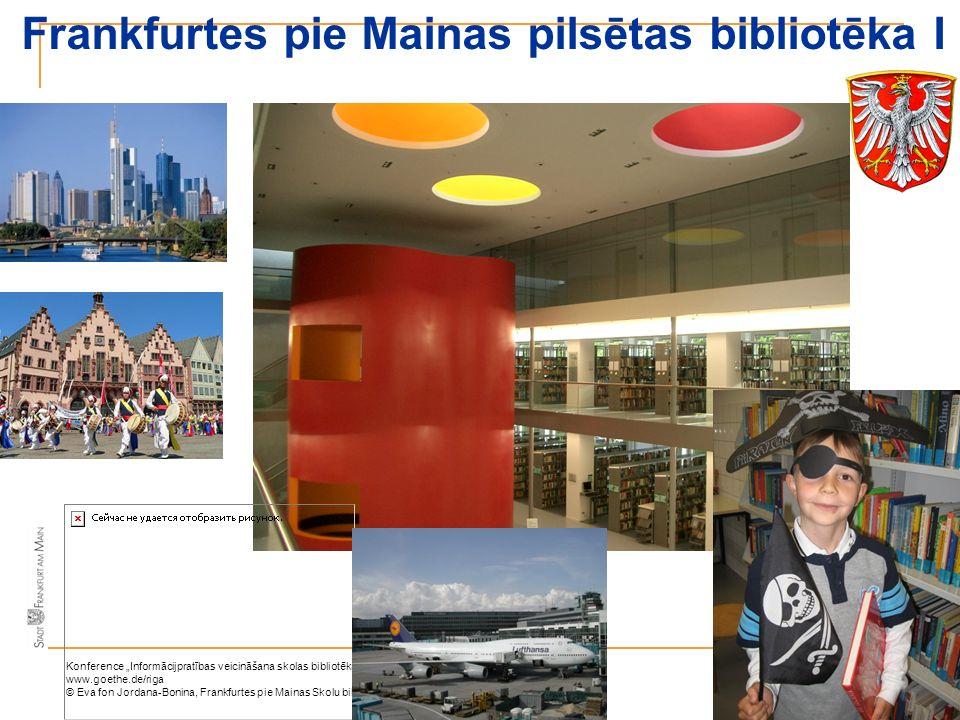 Frankfurtes pie Mainas pilsētas bibliotēka I