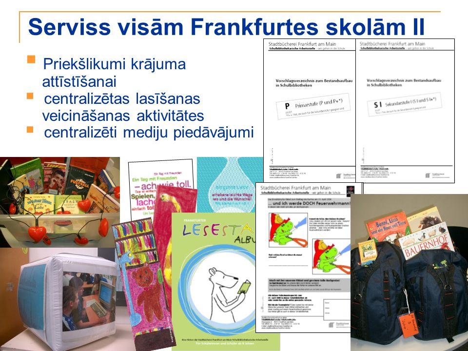 Serviss visām Frankfurtes skolām II