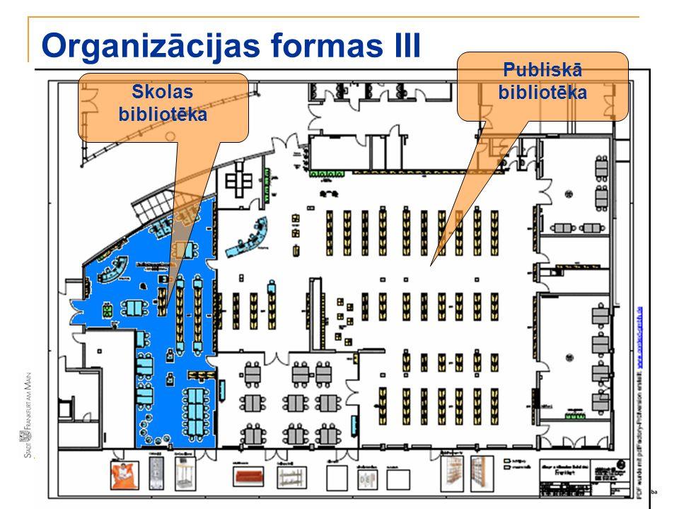 Organizācijas formas III