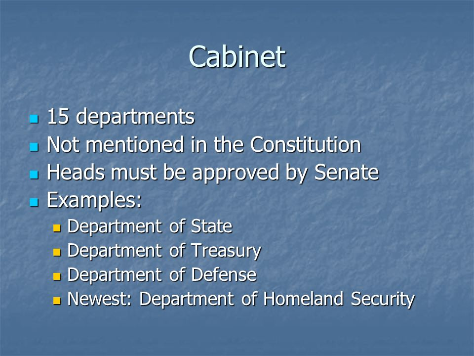 Executive Branch Chapter 7 Section 1 - ppt download
