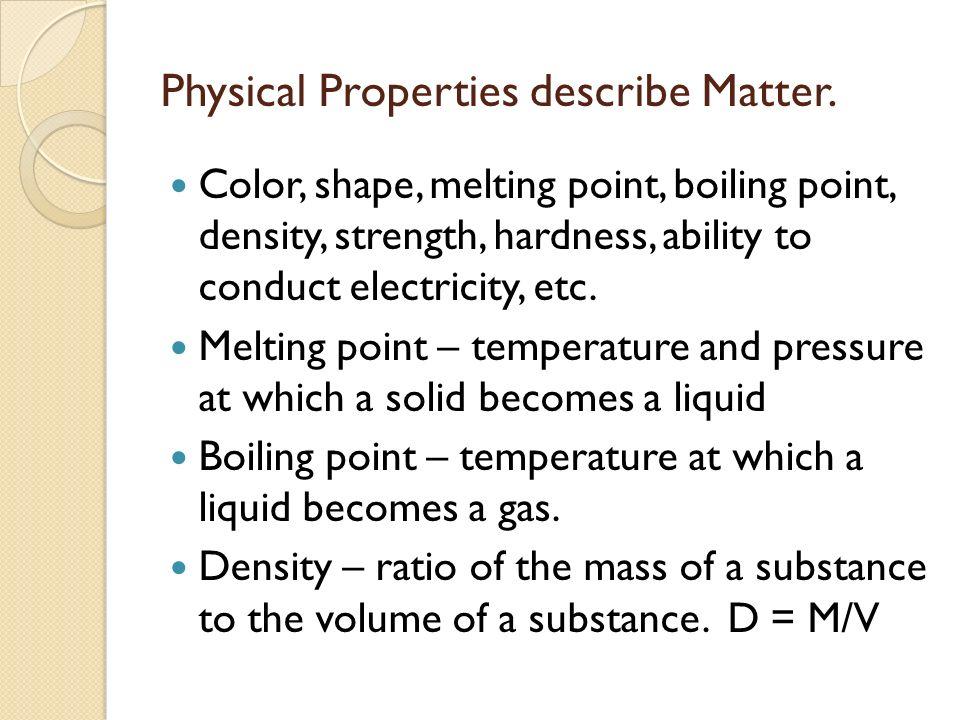 Physical Properties Of Italian Dressing