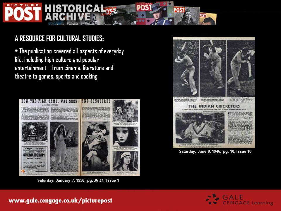 A RESOURCE FOR CULTURAL STUDIES:
