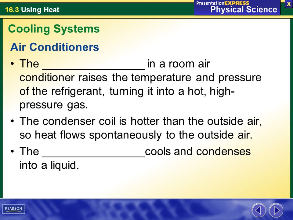 Cooling Systems Air Conditioners.
