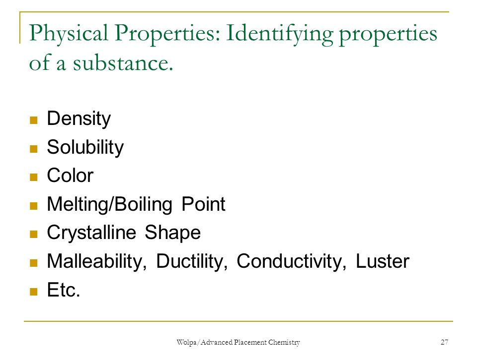 malleability chemistry. 27 physical malleability chemistry
