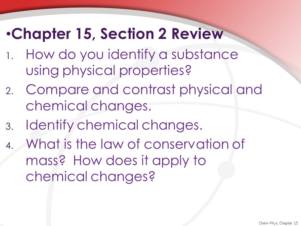 Chapter 15, Section 2 Review