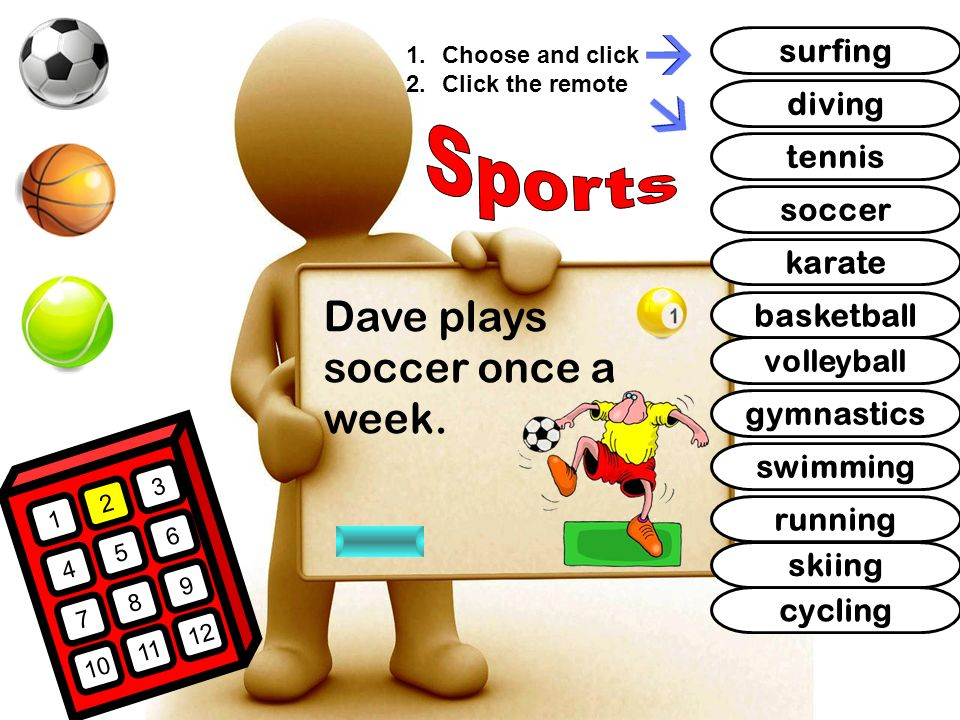 I Like Sports What is your favorite sport? How often do ...