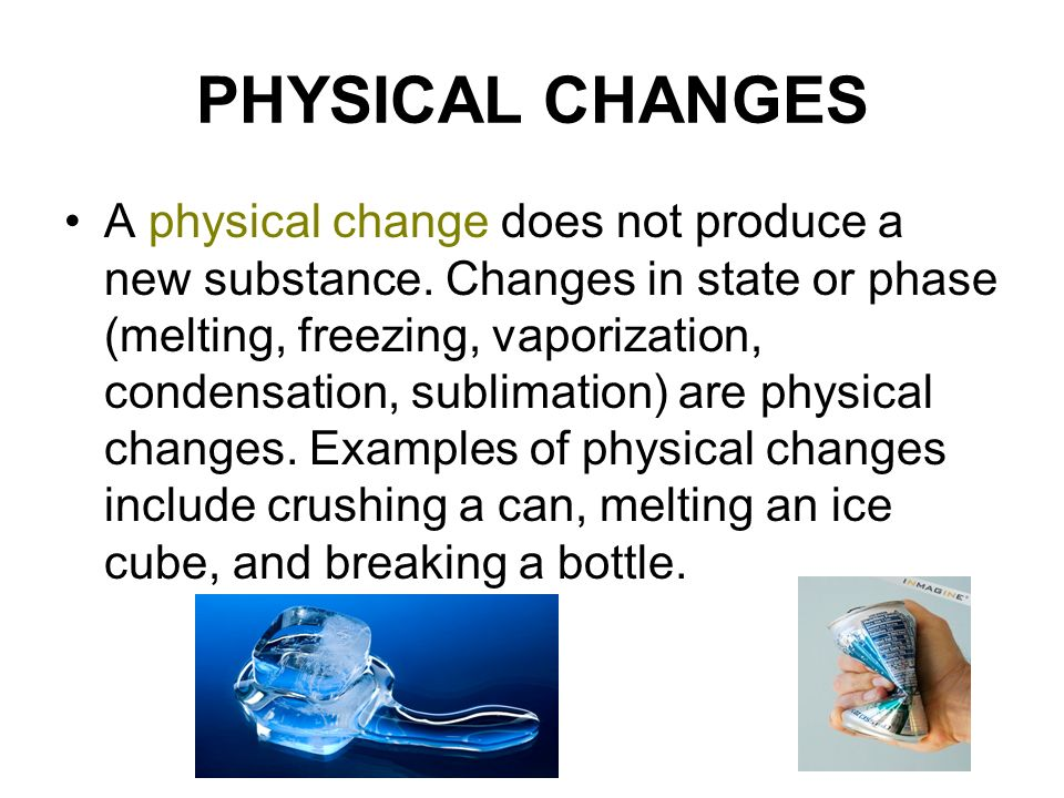 Physical Properties Of Ice Cube