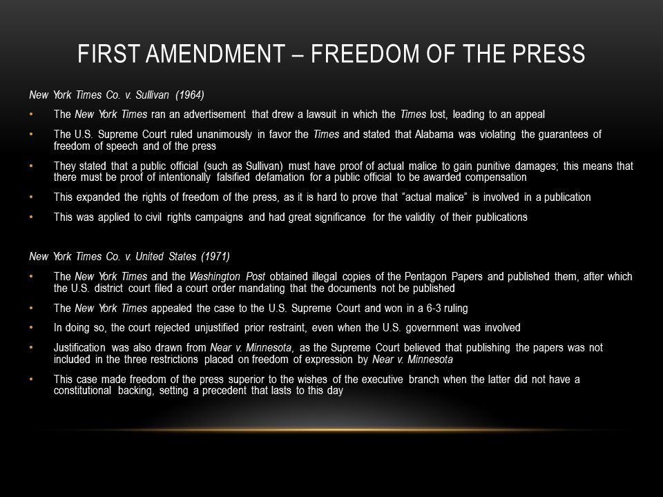 an analysis of first amendment in united states At the time the united states adopted the first amendment to the constitution, other nations routinely imposed disabilities on religious minorities within their borders, depriving them of legal rights, making it difficult or impossible to practice their faith, and often enabling violent persecution the free exercise clause was thus an exceptional.