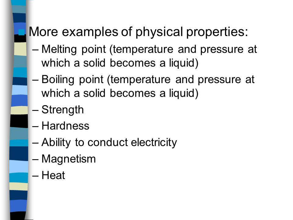 how to find melting point of a substance
