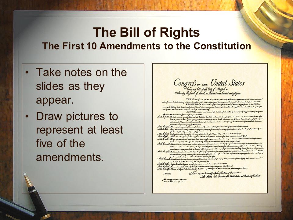 an introduction to the history of the first amendment to the constitution The first ten amendments to the constitution of the united states (and two others, one of which failed of ratification and the other which later became the 27th amendment) were proposed to the legislatures of the several states by the first congress on september 25, 1789.