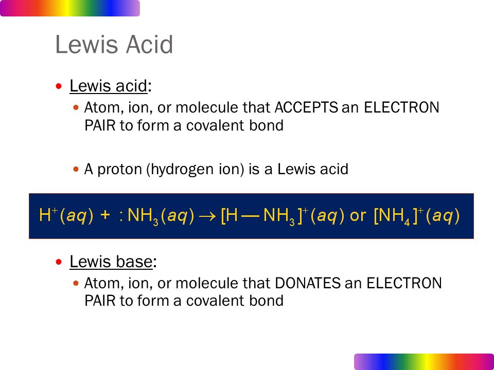 lewis acids and bases Lewis acids and bases are commonly classified according to their hardness or softness in this context hard implies small and nonpolarizable and soft indicates larger.