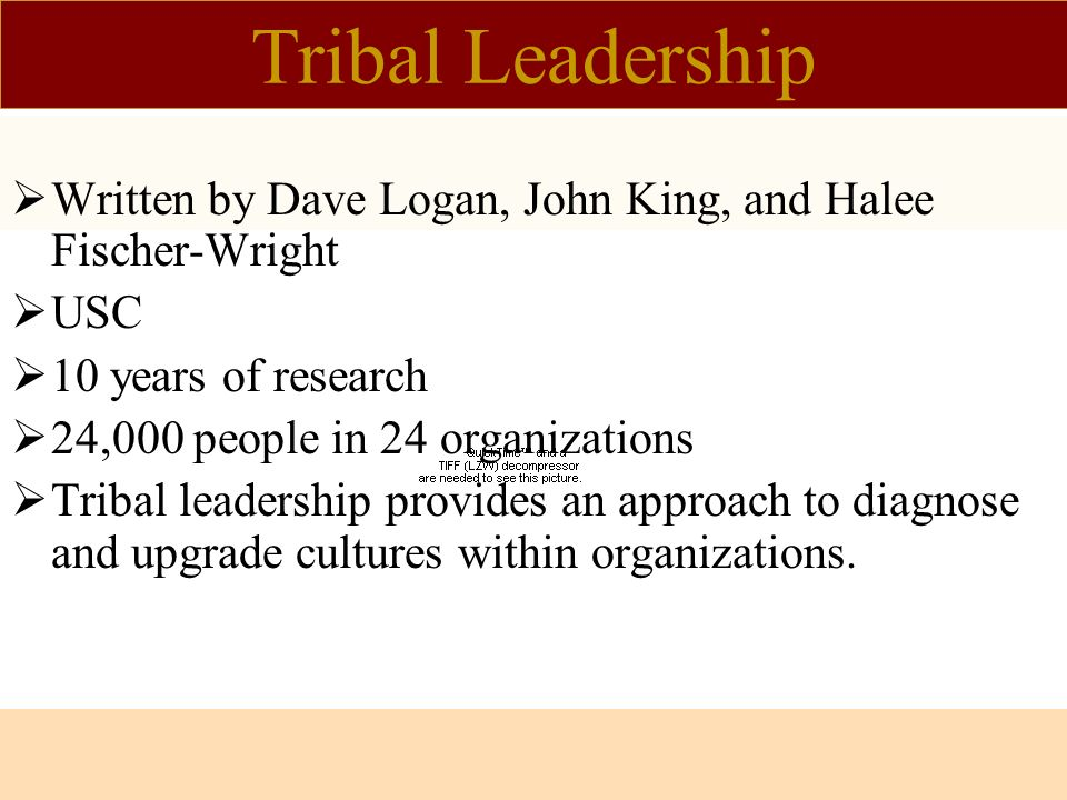 tribal leadership dave logan pdf