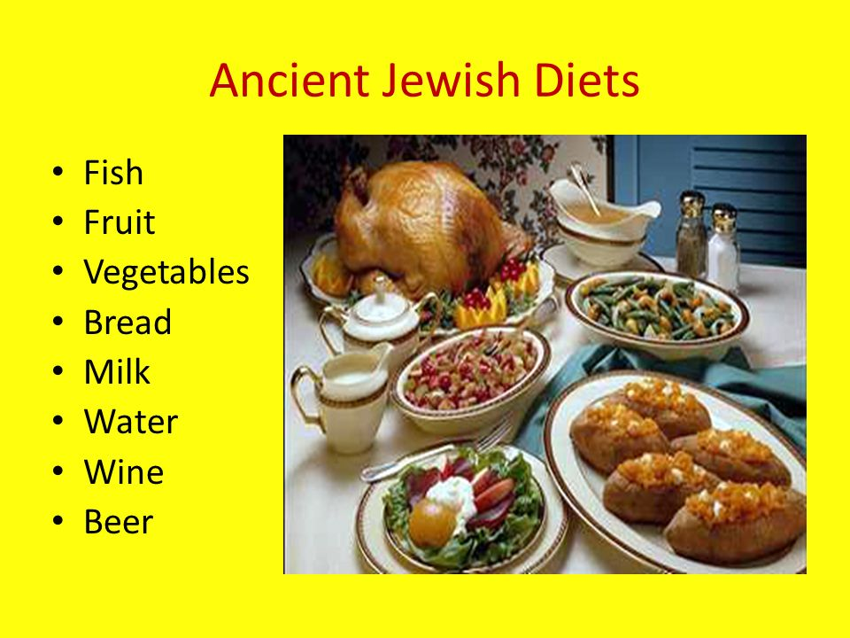 Ch 3 3 the growth of judaism ppt download for Fish and veggie diet