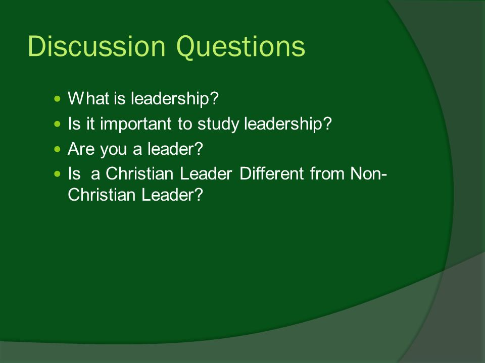 Critical thinking in leadership