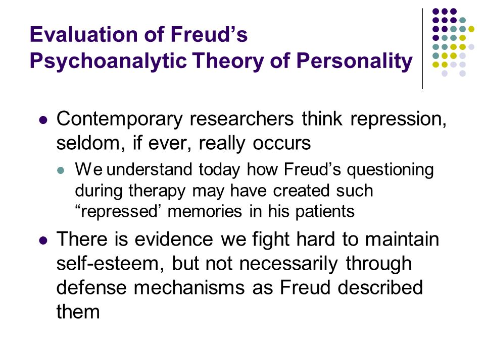 the importance of understanding theories and personality assessments It's a test that can be used to measure a person's most important personality  characteristics, and help him to understand which roles suit him best recruiters   integrating three organizing frameworks with two theoretical perspectives,'  vo.