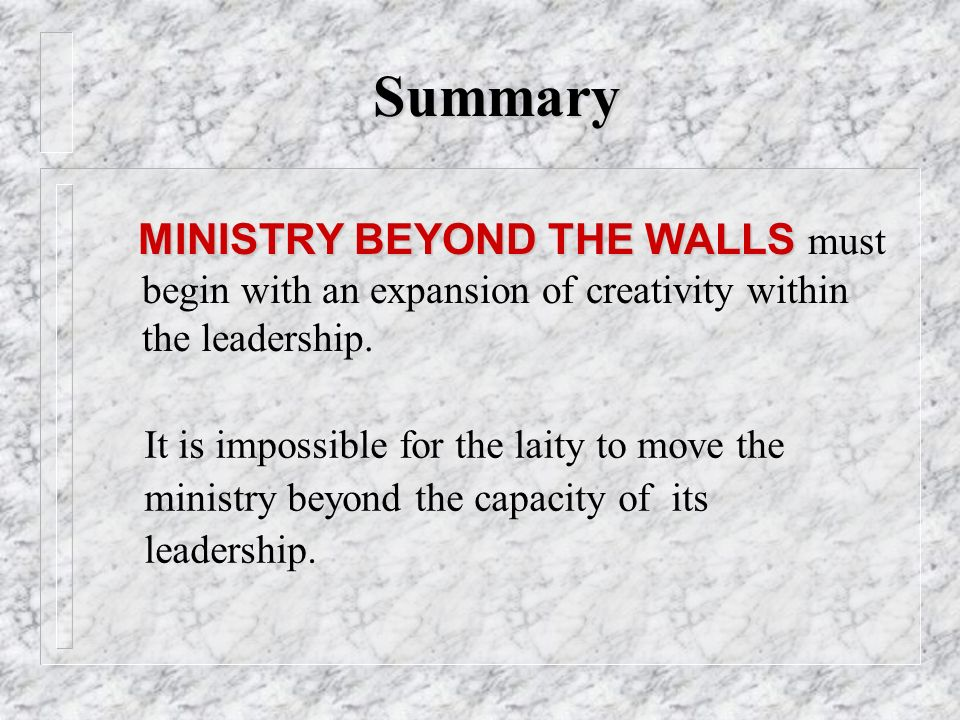 BEYOND THE WALLS By Bishop Charles H Ellis III Ppt Video Online - 22 pictures that are beyond impossible to explain