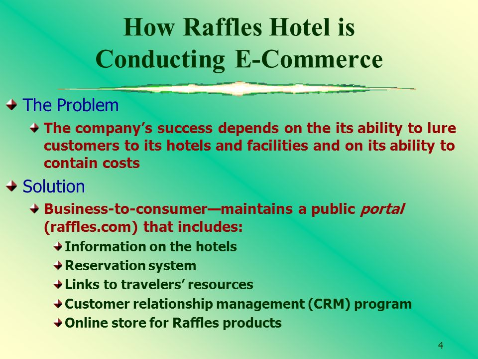 conducting e commerce The internet's global reach has made possible a cost-effective means for marketing products and services overseas companies that establish a corporate web site.