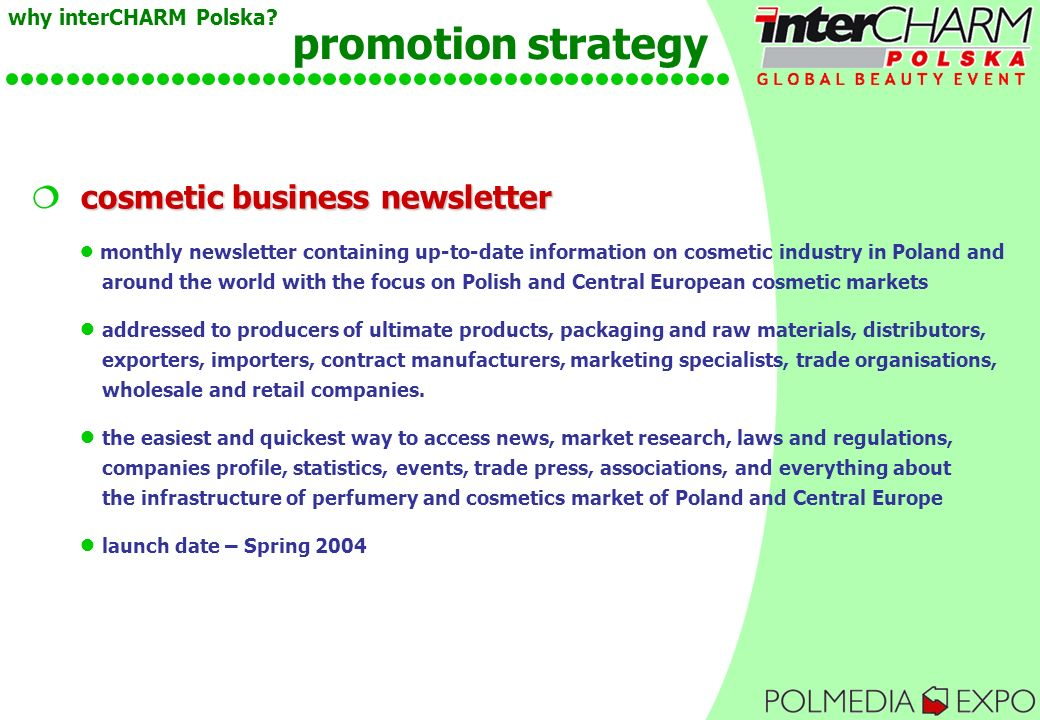 cosmetics from poland business research The market publishers, ltd - world's largest market research reports database with more than 15 million ready market reports, analytical data, company profiles and.