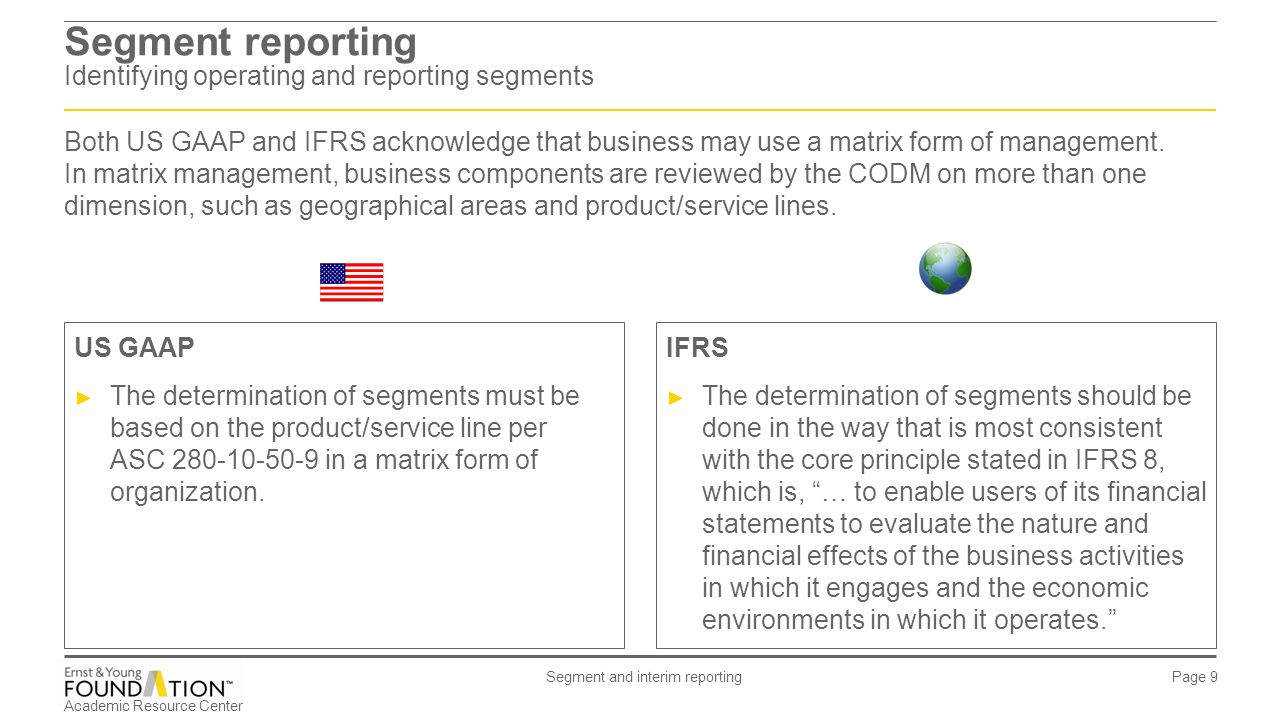 IFRS 8 – Segment reporting - ppt video online download