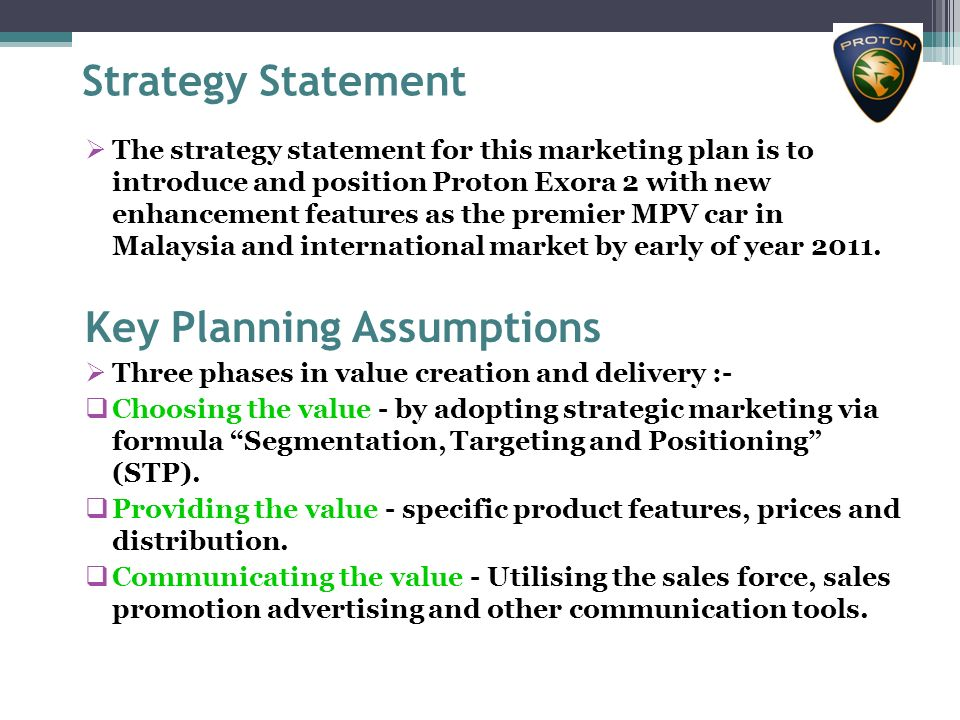 product strategic of perodua Corporate intelligence on proton holdings and market research on proton products tactical & strategic report substantial interest, recent commentary and overall .