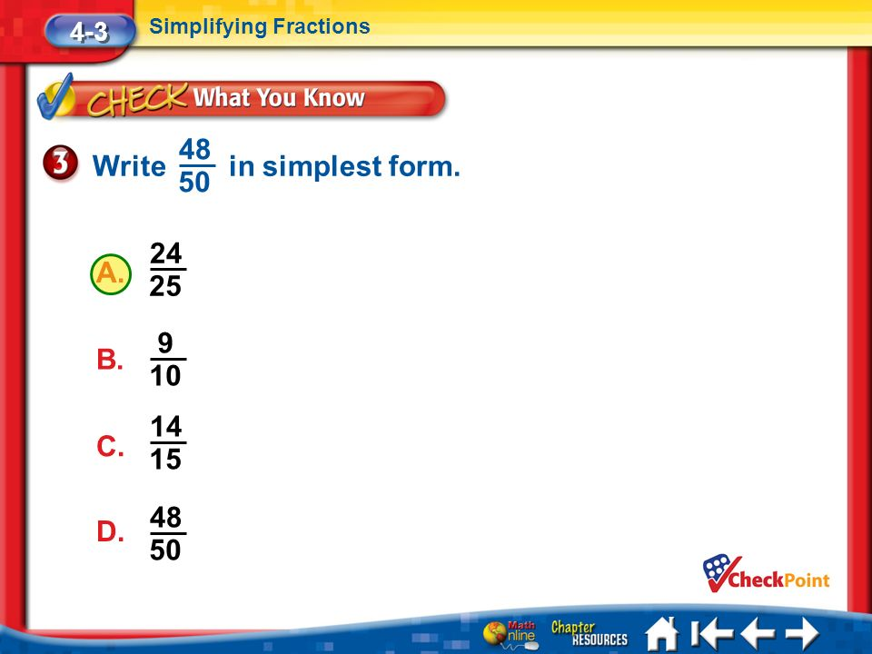 Chapter 4 Fractions and Decimals - ppt download