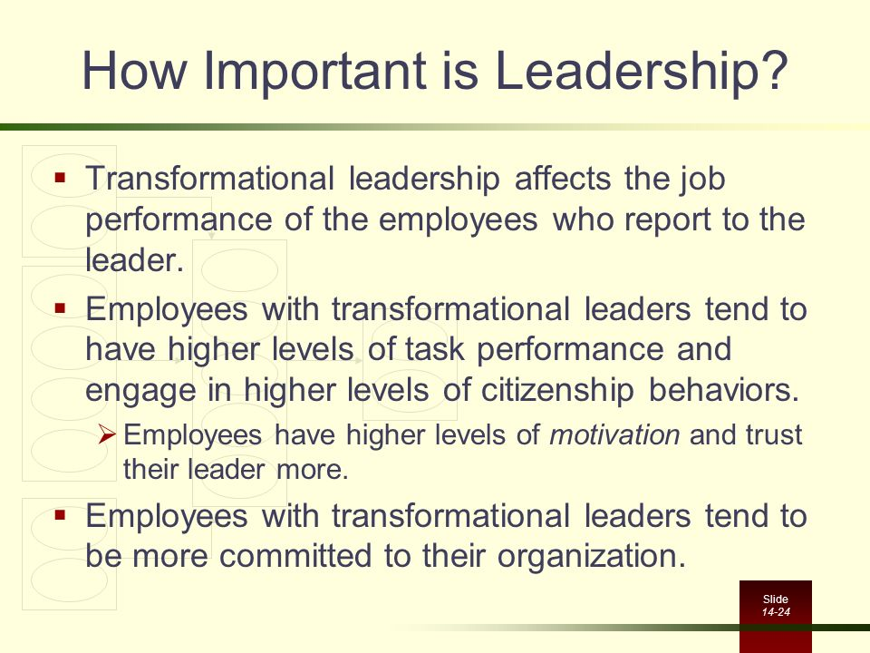 How Important is Leadership